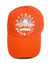 Streetwear Motor City - Baseball Cap (orange)