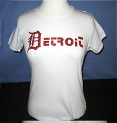 Lady Detroit Glitz - White