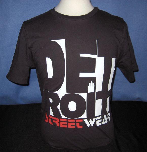 Detroit Streetwear (black)
