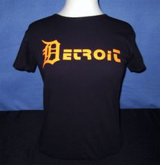 Lady Detroit Orange - Black