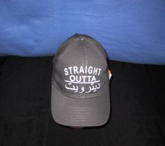Straight Out of Detroit-Arabic Gray