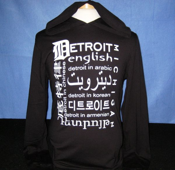 Diversity T-shirt Hoodie - Black