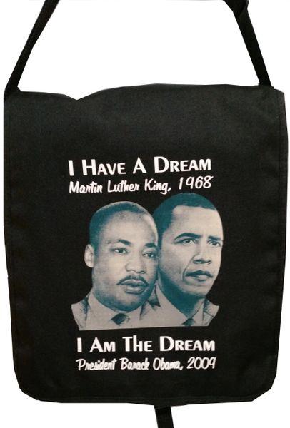 MLK/Obama Messenger Bag (limited amount available)