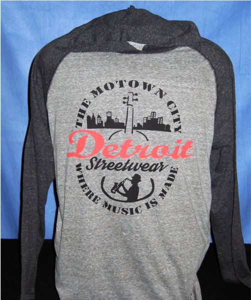 The Motown City - T-shirt Hoodie