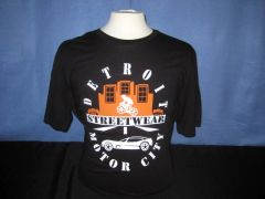 Detroit Streetwear Motor City - Black unisex