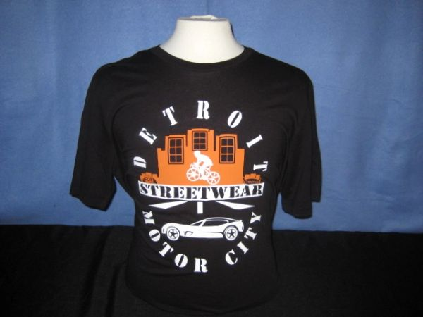 Detroit Streetwear Motor City - Black