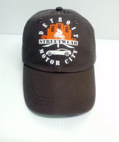 Streetwear Motor City Baseball Cap
