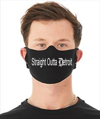 Detroit Face Mask - Straight Outta Detroit (SOLD OUT)