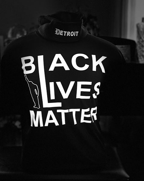 Black Lives Matter - T-shirt (black)