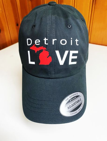 Detroit Love Michigan - Black Cap