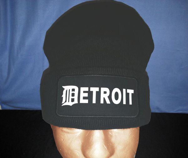 Detroit Skull Cap - Gray