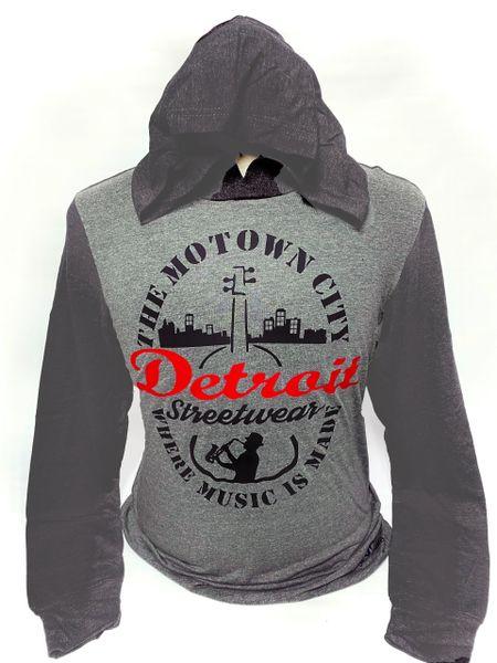 The Motown City - T-shirt Hoodie