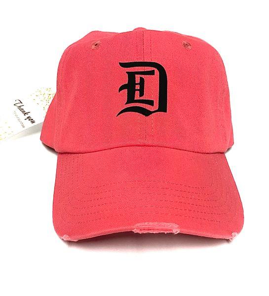 DETROIT STREETWEAR - HIBISCUS (RED) CAP