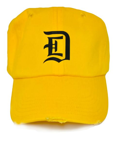 DETROIT STREETWEAR - SQUASH (YELLOW) CAP