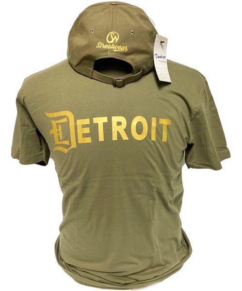 Detroit T-Shirt - Military Green