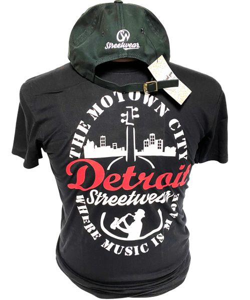 The Motown City - T-shirt (Black)