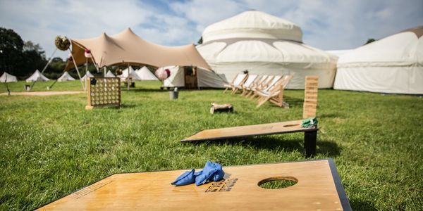 Outdoor Event venues in Derbyshire and Yurt wedding venue Derbyshire.