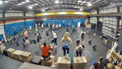 CrossFit HomeBrew facility. Group Class in Houma, LA