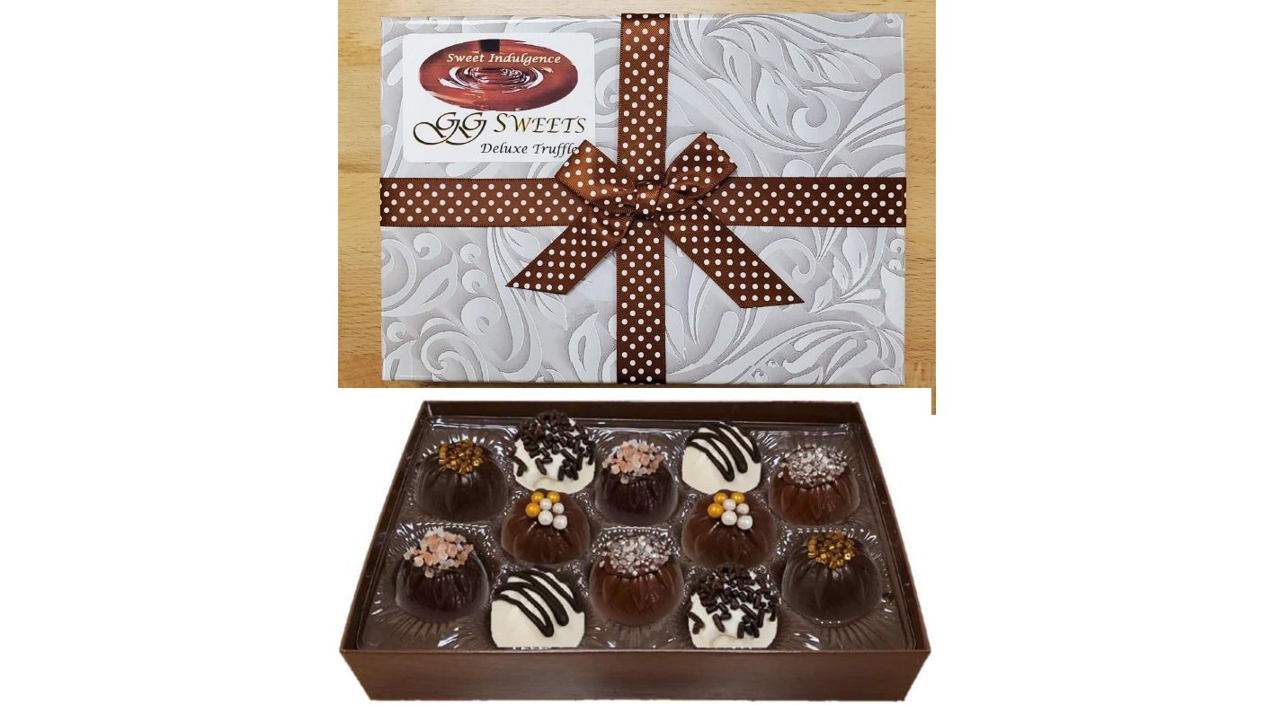 Deluxe Truffle Box 12 of our best truffles for you to enjoy!