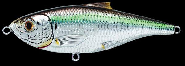 Live Target Saltwater SARDINE Pilchard Twitchbait SST75S950 or Noir 3 IN environ 7.62 cm