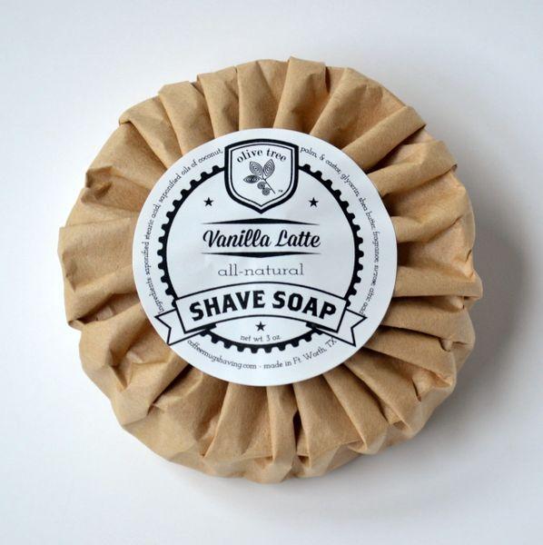 Shave Soap - Vanilla Latte