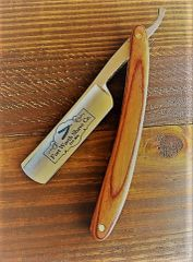 Straight Razor - All Wood Handle