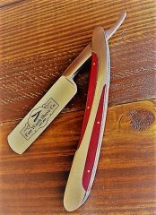 Straight Razor - Metal and Rosewood Handle