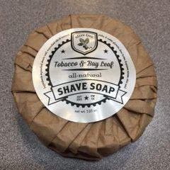 Shave Soap - Tobacco & Bay Leaf