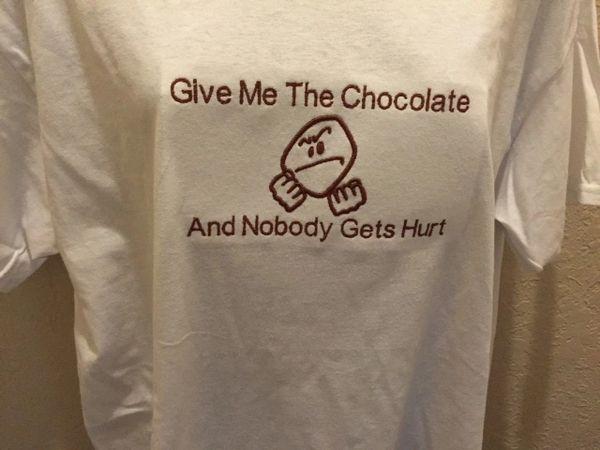 Give Me The Chocolate tshirt