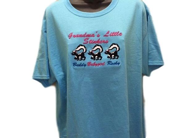 Grandma's/Grandpa's Little Stinkers t-shirt