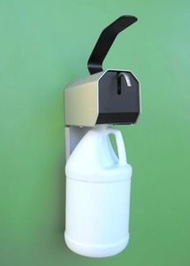 AR125  Heavy Duty Wall mounted dispenser for pour handle gallon bottles