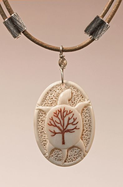 TURTLE & TREE OF LIFE PENDANT 2