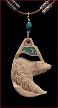 POLAR BEAR PENDANT ~ Custom Order~ Inquire