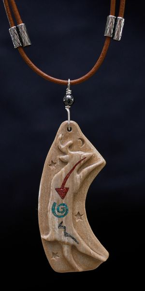 DEER DANCER PENDANT 2