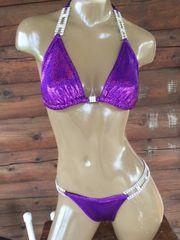 Purple Hologram bikini