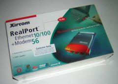 Xircom REM56G-100 PCMCIA RealPort 10/100 LAN + 56k Modem Combo PC Card NEW Box