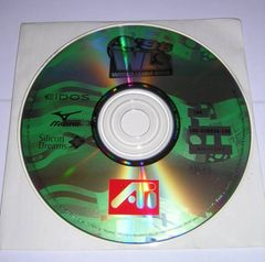 World League Soccer '98 ATi Accelerated Game PC CD-ROM