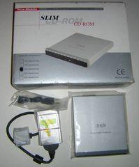TrueMobile Slim Portable External PCMCIA CD-ROM Drive Kit in Retail Box