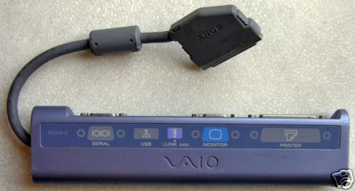 Sony VAIO PCG-N505 Z505 iLink Port Replicator Dock