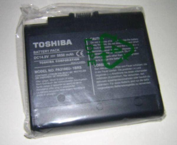 Toshiba Satellite 1900 1905 Series Li-Ion Main Battery Pack NEW