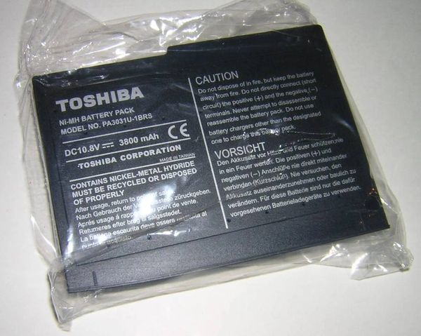 Toshiba Satellite 1600 Series Li-Ion Main Battery Pack NEW