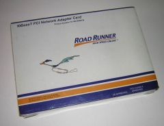 Road Runner 10BaseT Ethernet LAN PCI Card NIC FO-065-8600TW NEW in Box