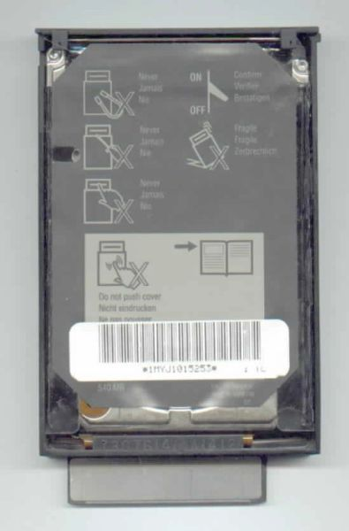 IBM Thinkpad 701c 701cs Hard Disk Drive HDD Caddy Carrier