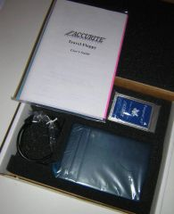 Accurite Travel Floppy PCMCIA External FDD Drive Kit