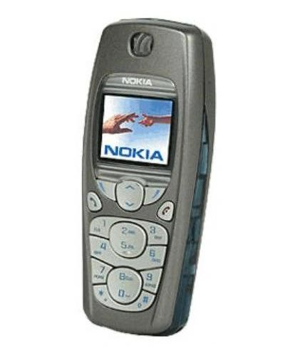 Nokia 3595 Mobile GSM Mobile Cell Bar Phone Unlocked Silver with Battery