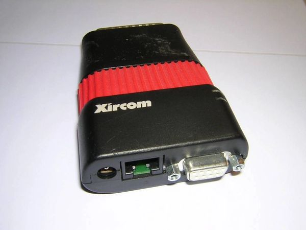 Xircom Parallel Port Pocket Token-Ring Adapter PT3-16CTP