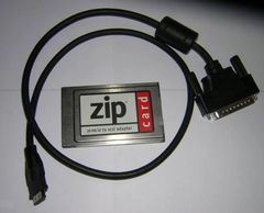 Iomega Zip SCSI PCMCIA Adapter PC Card + Cable