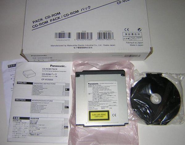 Panasonic Toughbook CF-25 CF25 CD-ROM Drive Pack Module NEW in Box