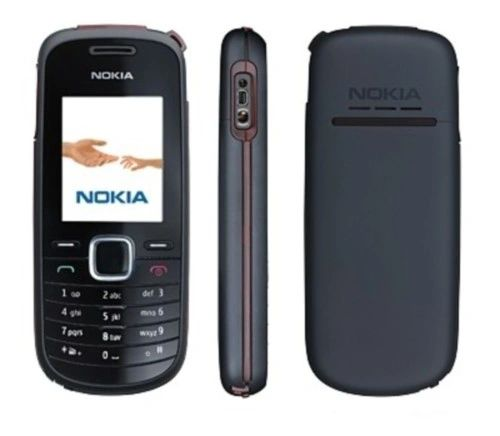 Nokia 1661 GSM Slim Bar Cell Phone T-Mobile Grey with Battery