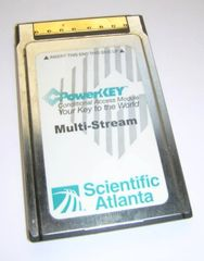 Scientific Atlanta PowerKey Multi-Stream CableCARD M-Card PKM802 CardBus PC Card